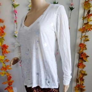 NWOT ANTHROPOLOGIE MICHAEL STARS TOP STARS